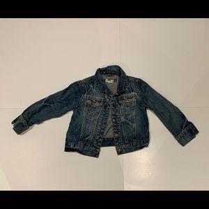 Kids Jean Jacket -size 4
